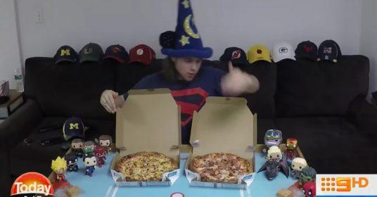 pizza-afvallen